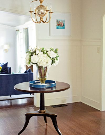 Painted White Molding